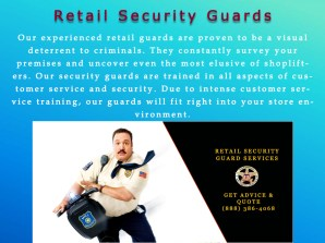 3 Retail Security Guards