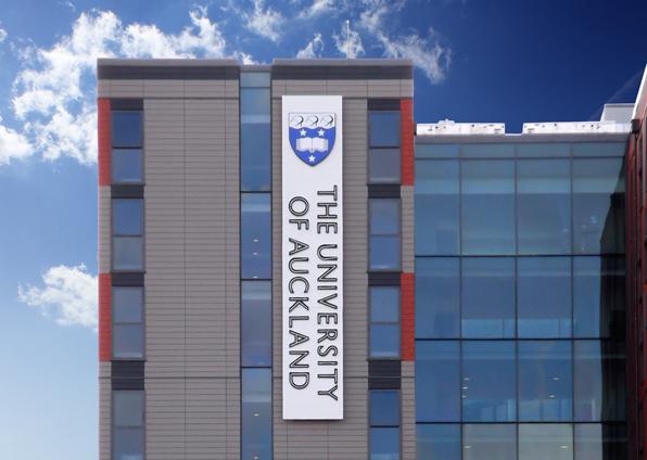 auckland university building signage