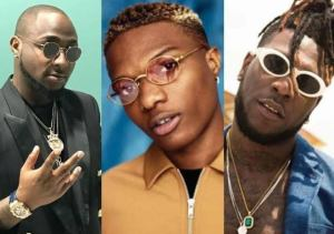 Leading Nigerian musicians have taken to their Twitter pages to shower lots of praises on Nigerian Afrobeat star, Burna Boy after 'African Giant' got nominated in the Best World Album category for the 62nd Grammy Award.