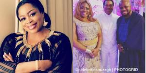 Sinach Welcomes First Child At 46 (Video)