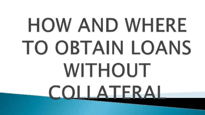 Quick Online Loans Without Collateral In Nigeria