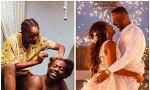 Adekunle Gold Wrote A Heart Melting Message To Simi On Her Birthday