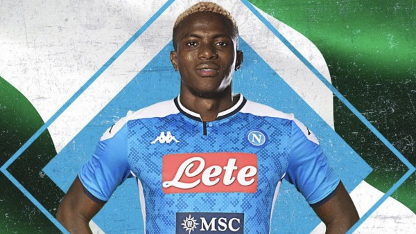 Osimhen completes Napoli switch