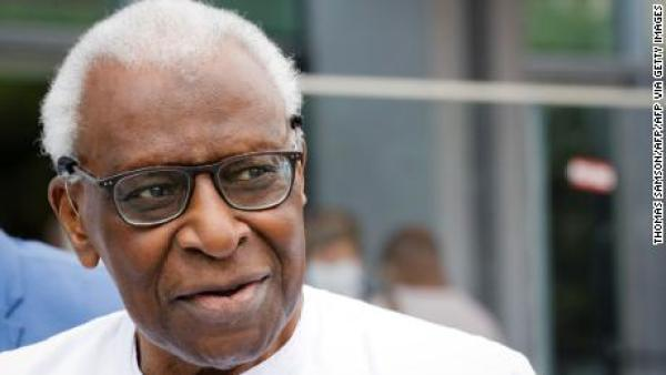 Ex-world athletics chief Diack jailed two years for corruption