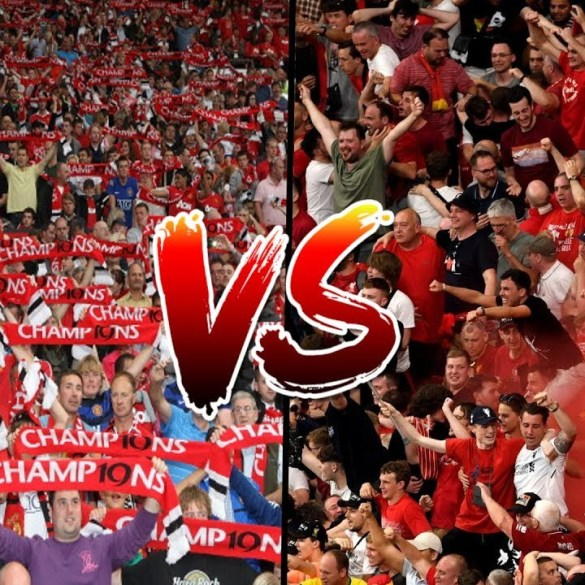 Manchester United face Liverpool