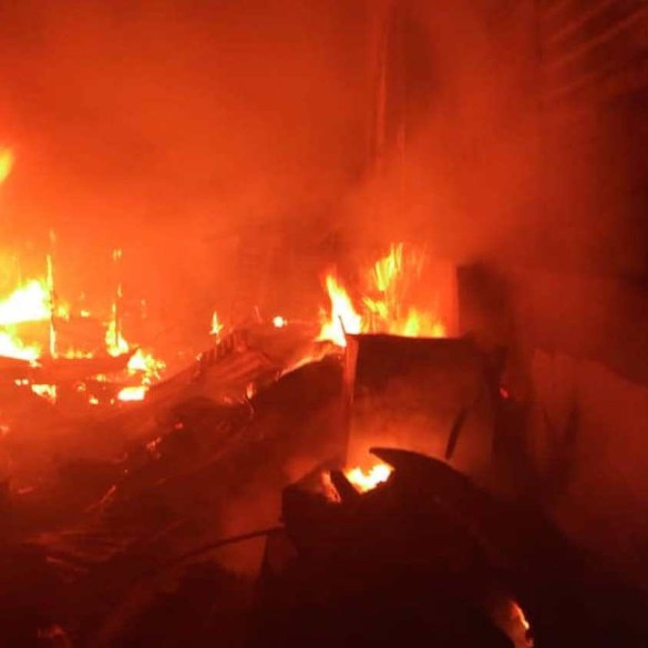 Fire guts Nigeria Immigration Service headquarters in Abuja