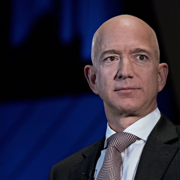 Jeff Bezos tops Forbes billionaire list for the 4th year in a row