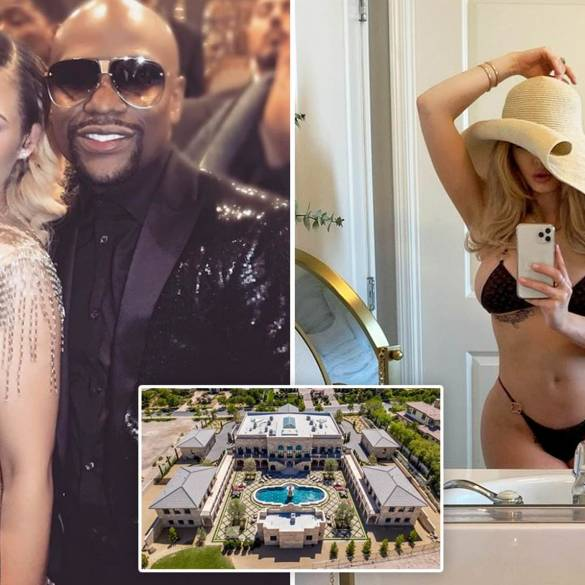 Floyd Mayweather has reportedly kicked girlfriend Anna Monroe out