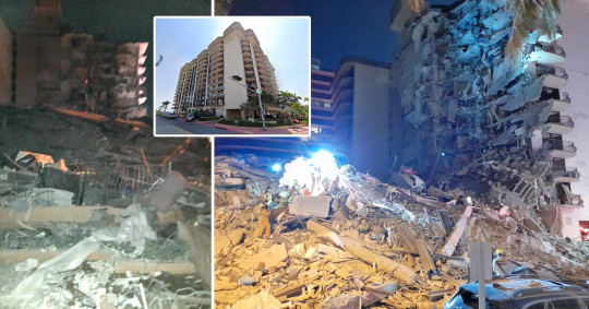 Miami building collapse death toll reaches 16 as four more bodies found