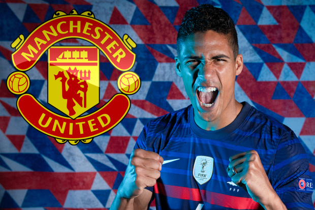 Manchester United must fork out £52m for Raphael Varane