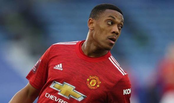 Manchester United has put Anthony Martial on the transfer list