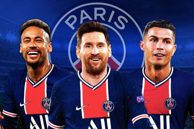 Paris Saint-Germain wants Cristiano Ronaldo to link up with Lionel Messi