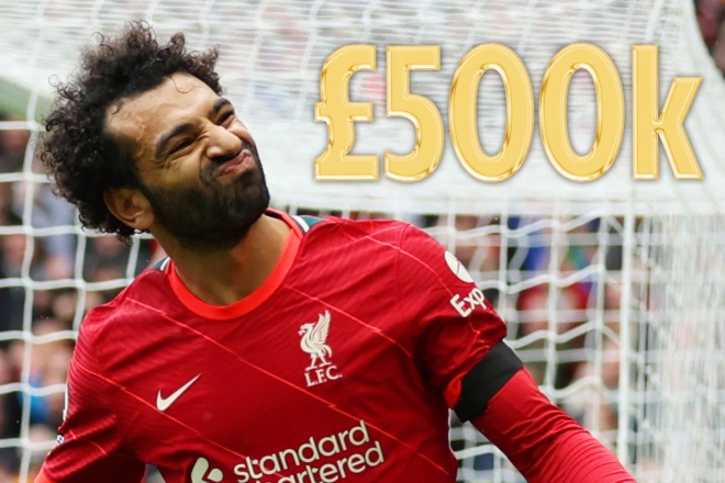 Mohamed Salah has demanded £500,000-a-week to stay at Liverpool