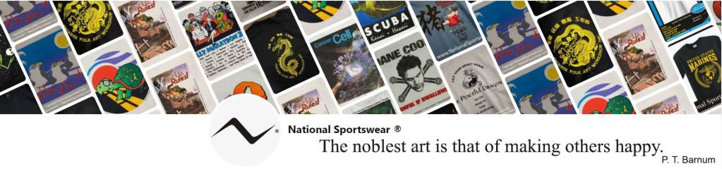 printing by National Sportswear