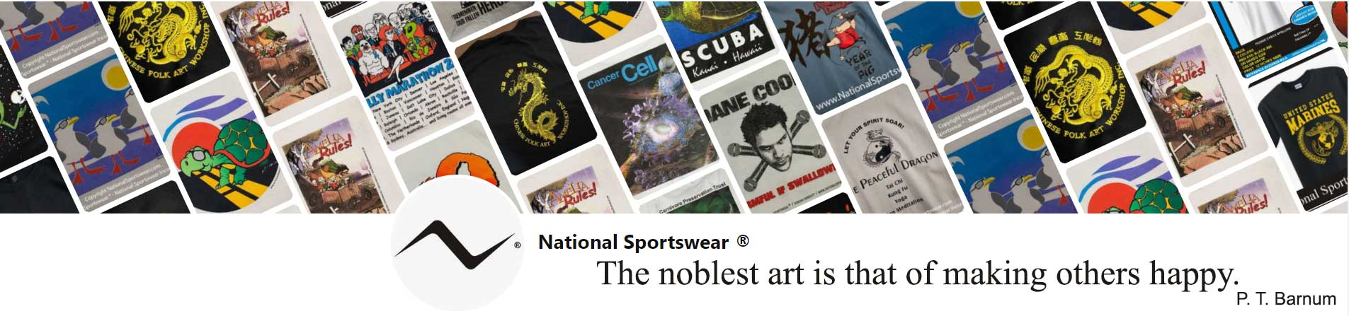 silkscreen printing quote by National Sportswear