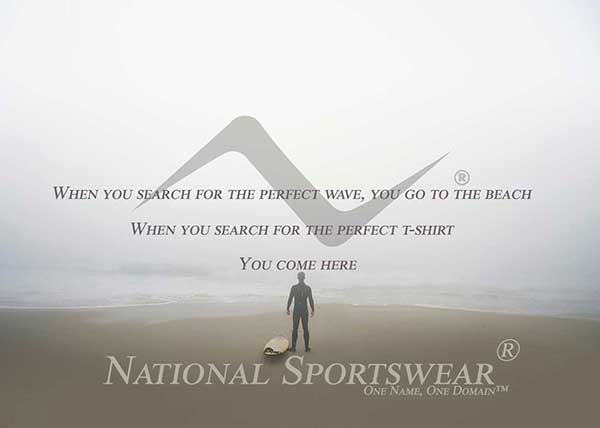 shop or contact us at National Sportswear