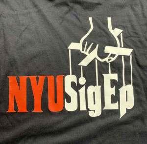 NYU t-shirt