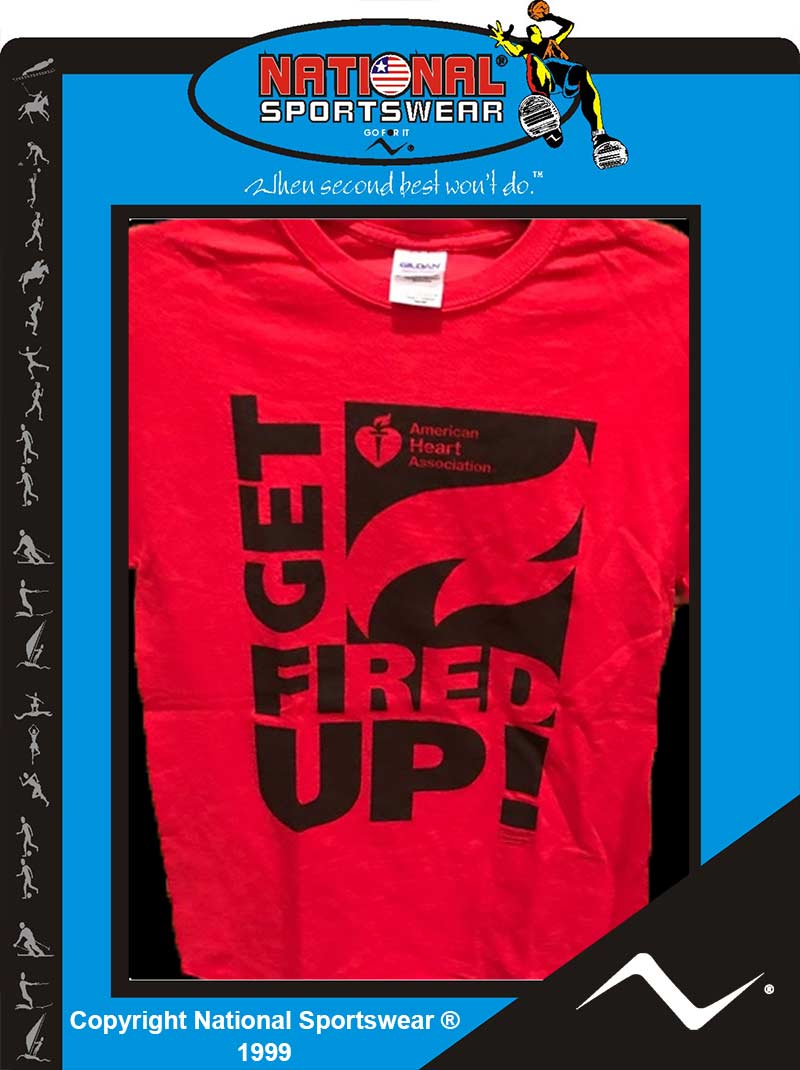 Atlanta t-shirt printer American Heart Association