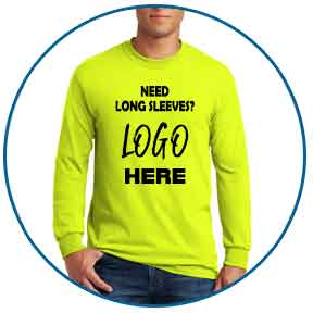 long sleeve landscape t-shirts