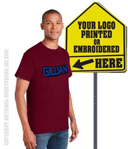 National Sportswear gildan t-shirts