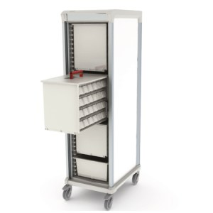 Apollo medications storage cart single