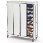 Apollo storage cart solid door