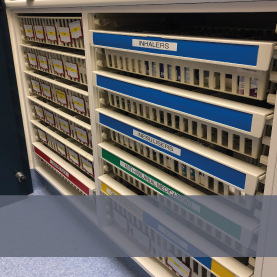 Shelving & Storage for Emergency Departments