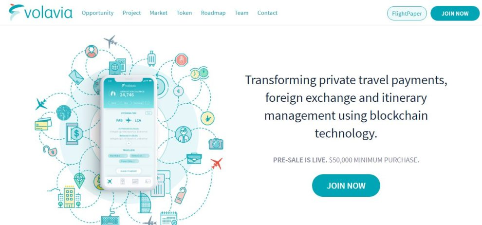 technology-firm-volavia-releases-first-blockchain-based-platform-for-private-air-travel