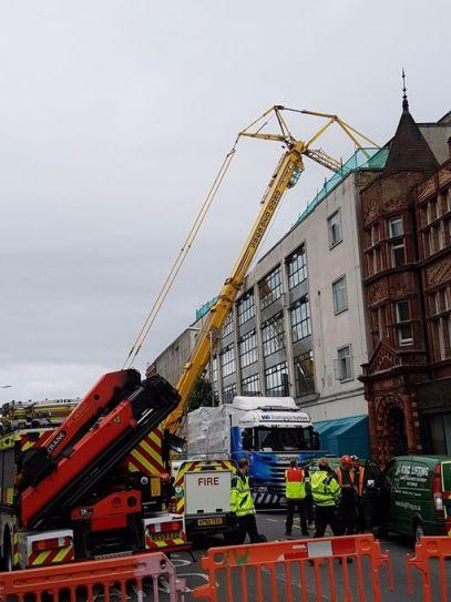 Reading crane collapse