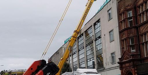 Reading crane collapse