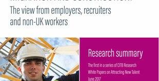Uk construction relies on migration
