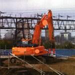 Excavator that killed worker