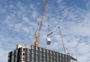 Tower crane chain failure on site