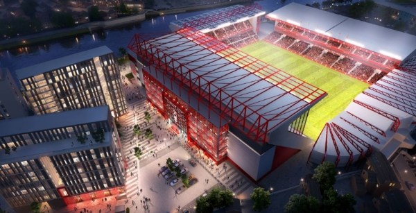 New Nottingham Forest stands set to increase the capacity by 5000