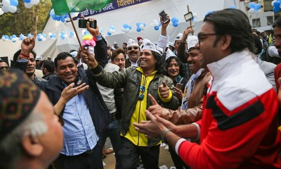 New Delhi election: Kejriwal's AAP takes lead over Modi's BJP