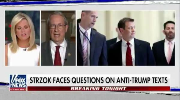 "Chairman Bob Goodlatte: ""FBI Counsel in the Room Instructed Mr. Strzok Not to Answer Many, Many Questions"" (VIDEO)"