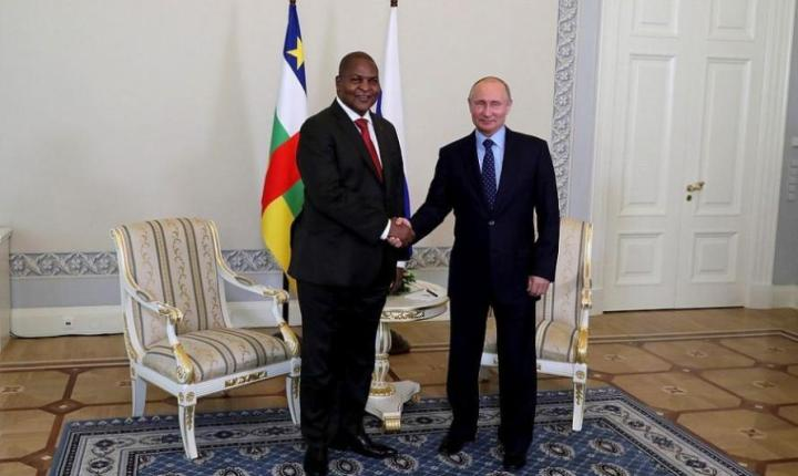 Russia, Central Africa Sign New Military Cooperation Agreement