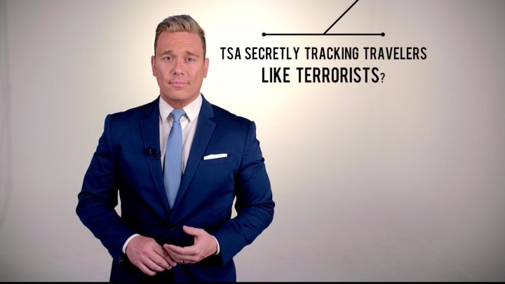 TSA Secretly Tracking Travelers Like Terrorists
