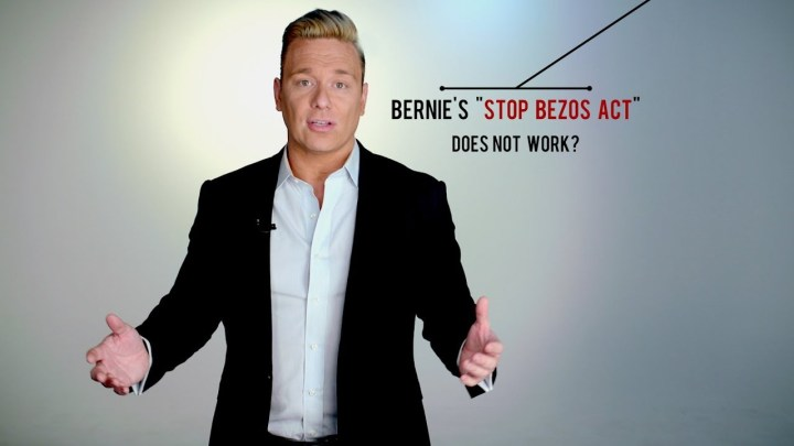 "Bernie's ""Stop Bezos Act"" Doesn't Work, Here's Why!"