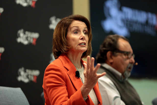 """Nancy Pelosi cheers disease, saying, """"Let's hear it for more pre-existing medical conditions!"""""""