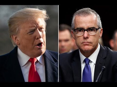 FBI MCCABE SAYS DOJ WANTED TO REMOVE TRUMP FROM OFFICE USING WIRE TAP