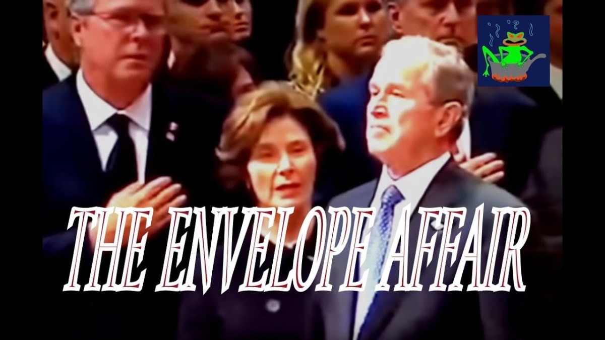 """Bush Funeral """"Envelope Affair"""" Solved: The Mexican Standoff Inside the Beltway"""