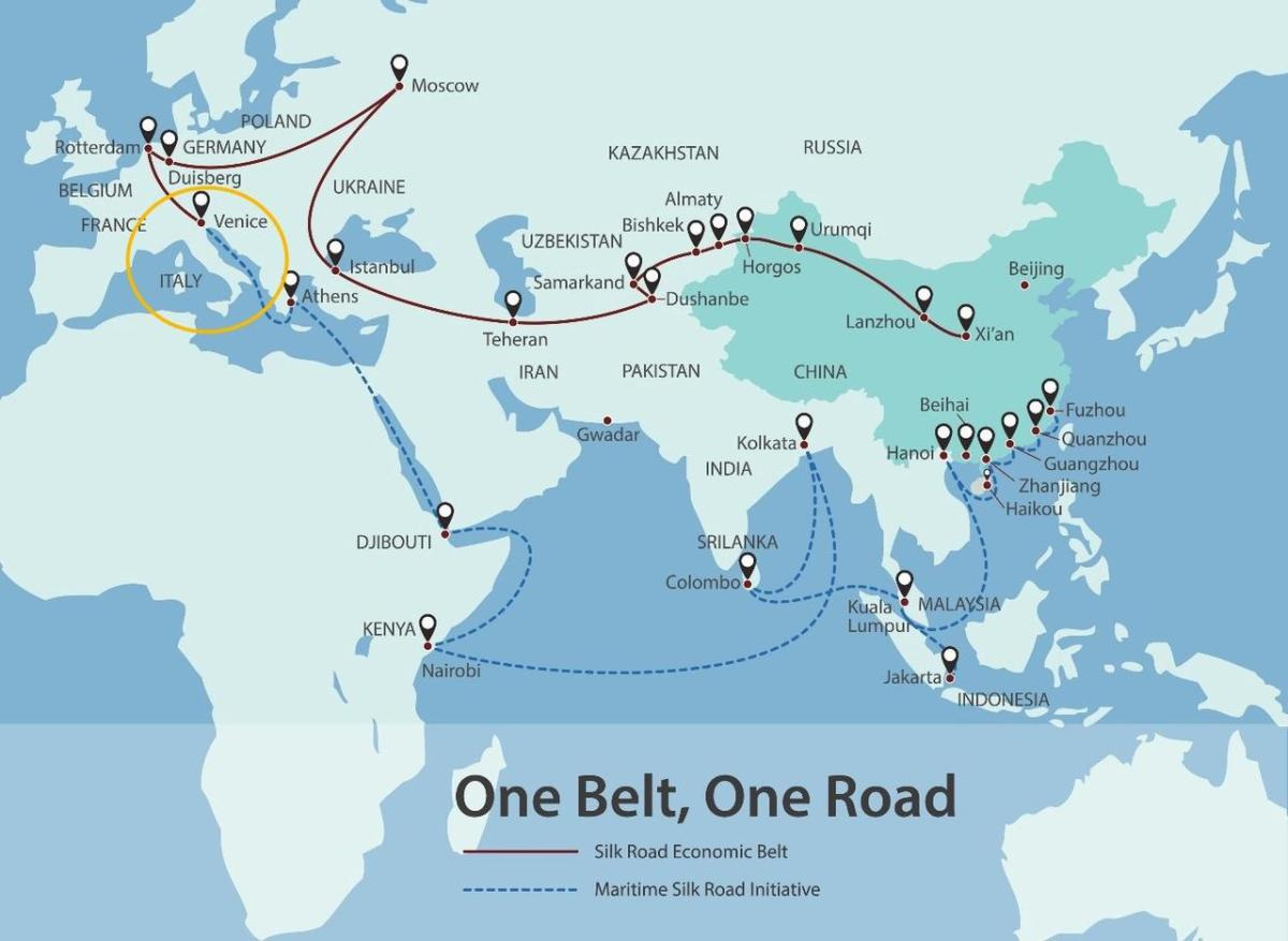 """US Issues Warning About Italy Being Made """"Great Again"""" Through China's 'Belt and Road'"""
