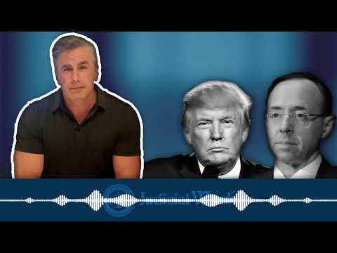 Tom Fitton: DOJ Playing Games w/ Judicial Watch on Rosenstein Records about Comey & Mueller