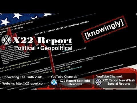 [Knowingly],Treason, Sedition, #Flagsout –  Episode 1828b