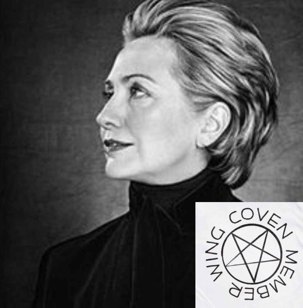 It's true: Hillary Clinton really did join a witches coven