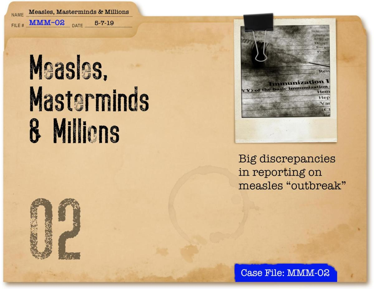 Measles, Masterminds & Millions Part II
