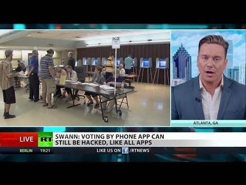 Ben Swann ON: Is Voting By Cellphone and Blockchain Safe?