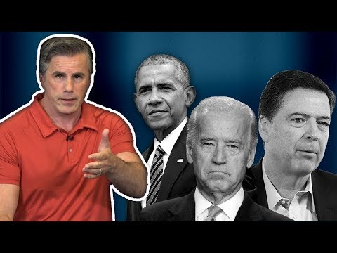 Tom Fitton: Obama, Biden and Comey Need To Be Investigated For Illicit Anti-Trump Targeting