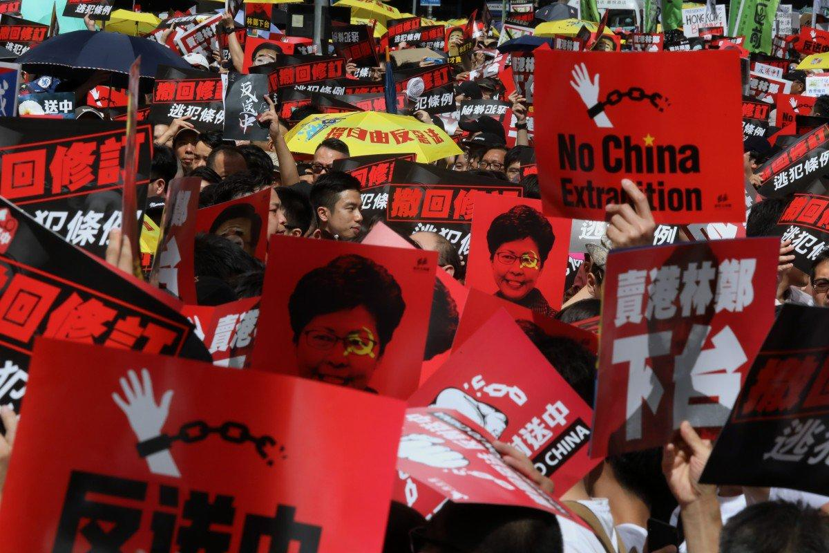 """Watch China's Propaganda In Action: Foreign Ministry Claims Massive HK Protests Were """"Pro-Extradition"""""""
